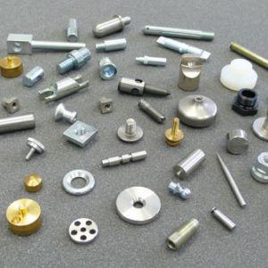 Produits - Petites pièces métalliques tournées sur plan